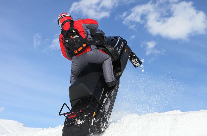 снегоход свт патруль