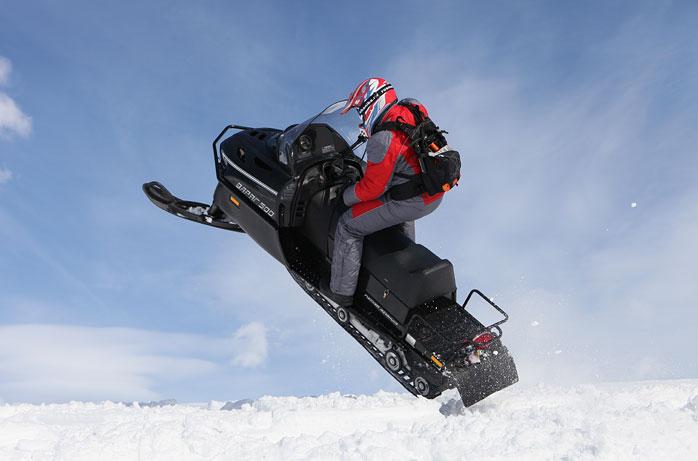 снегоход патруль