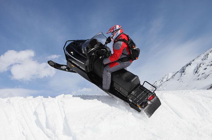 снегоходы патруль