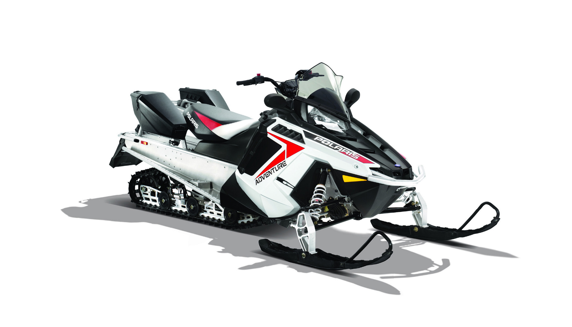 Снегоход 550 INDY ADVENTURE white/black 2014