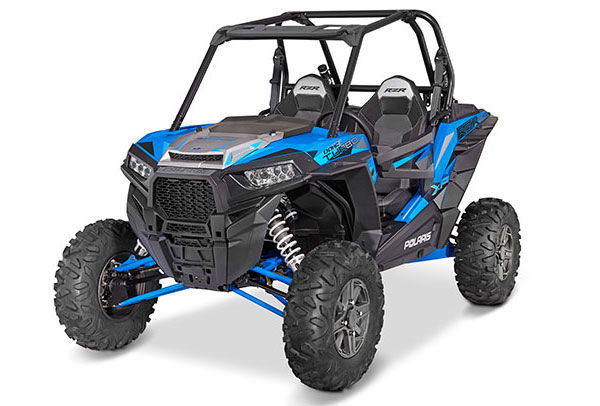 Мотовездеход RZR XP TURBO EFI EPS Velocity Blue 2016