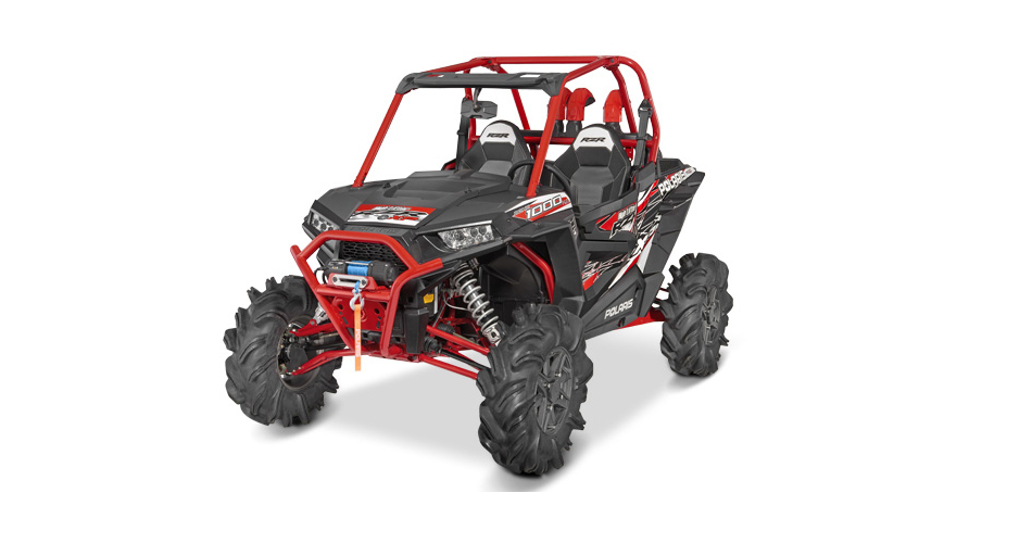 RZR XP 1000 EFI EPS High Lifter Tittanium Matte Metal 2016